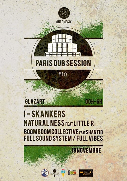 paris dub session flyer